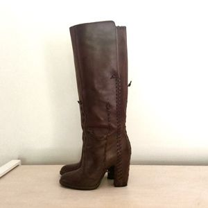 Maison Martin Margiela knee-high boots size 8 1/2
